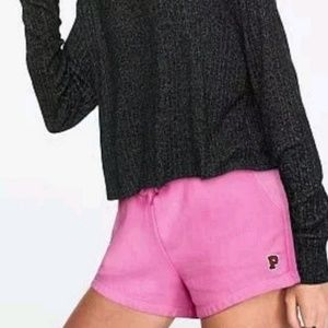 New pink Victoria's SECRET sweat shorts